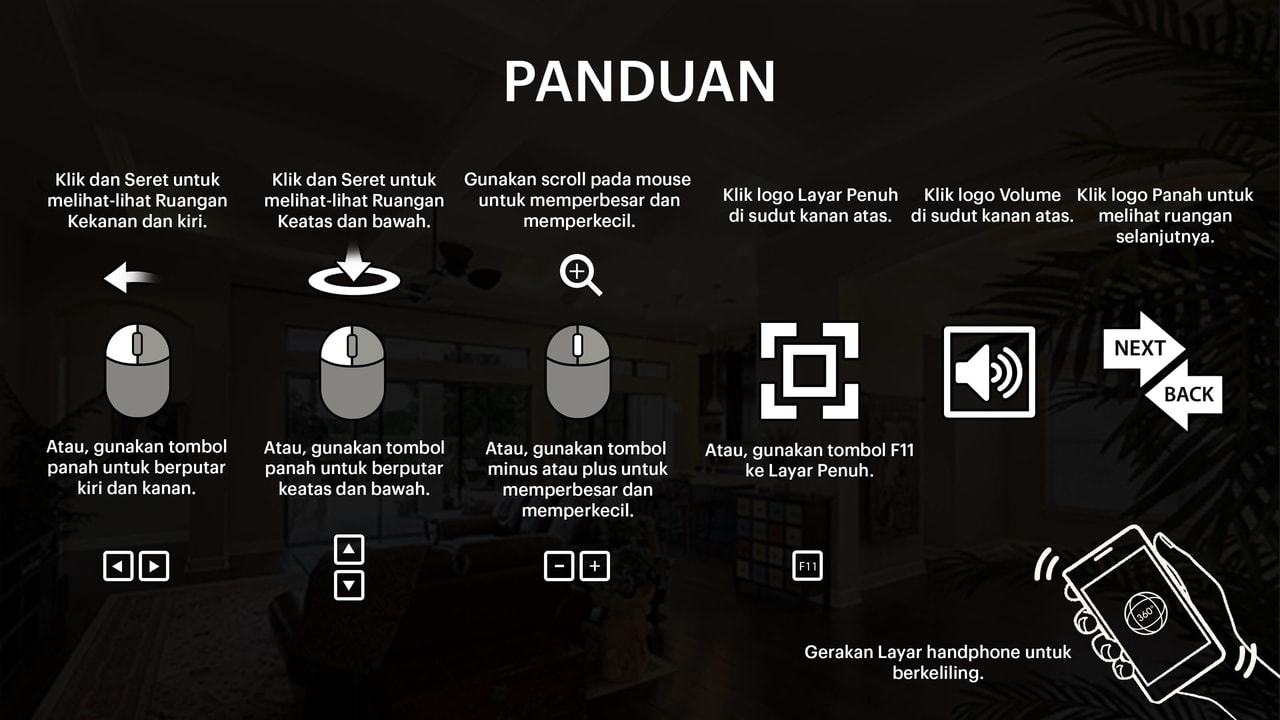 Panduang Navigasi Virtual Tour